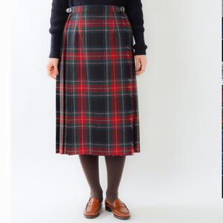 オニール(O'NEILL)のオニールオブダブリン プリーツ巻きスカート(ロングスカート)