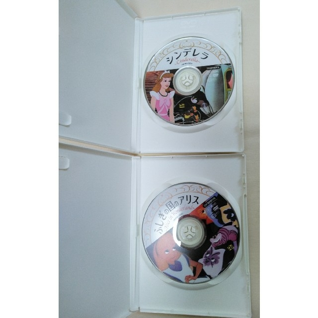 Disney(ディズニー)の不思議の国のアリス シンデレラDVD(日本語版) エンタメ/ホビーのDVD/ブルーレイ(アニメ)の商品写真