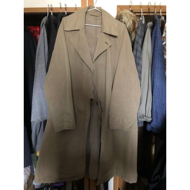 COMOLI(コモリ)のcomoli コモリ パラフィンコーティング タイロッケンコート 2  メンズのジャケット/アウター(トレンチコート)の商品写真