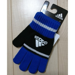 adidas - 【新品・未使用】adidas キッズ ジュニア手袋 フリーサイズ