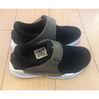 ナイキ(NIKE)のナイキ Nike 23cm ソックダート黒 ブラック(スニーカー)