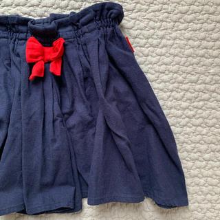 ムージョンジョン(mou jon jon)のキュロットスカート 120(スカート)