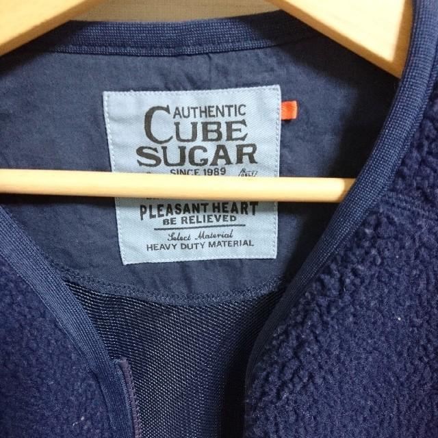 CUBE SUGAR(キューブシュガー)のCUBESUGAR ボアジャケット レディースのジャケット/アウター(ブルゾン)の商品写真