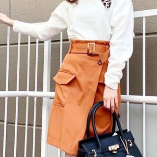 セシルマクビー(CECIL McBEE)のセシルマクビー ラップスカート(ひざ丈スカート)