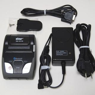 star モバイルレシートプリンター SM-S210i(PC周辺機器)