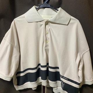 ラフシモンズ(RAF SIMONS)の大特価!neon sign 18ss SCHOOL POLO ポロシャツ 48(ポロシャツ)