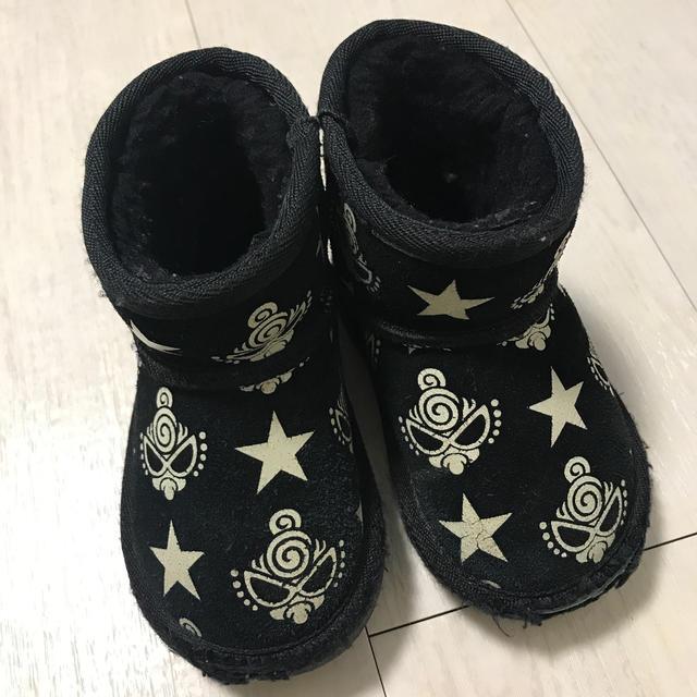 HYSTERIC MINI(ヒステリックミニ)のヒステリックミニ  ムートンブーツ 最終値下げ キッズ/ベビー/マタニティのベビー靴/シューズ(~14cm)(ブーツ)の商品写真