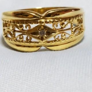 18Kダイヤモンドリング(リング(指輪))
