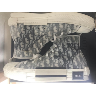 DIOR HOMME - Dior b23 ハイカットスニーカー  サイズ43