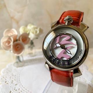 ガガミラノ(GaGa MILANO)の【美品】GaGa Milano ガガミラノ 腕時計  la dolce vita(腕時計)