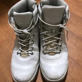 ティンバーランド(Timberland)のティンバー 白 ブーツ(ブーツ)