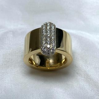 RUGIADA k18 ダイヤモンド ゴールド リング(リング(指輪))