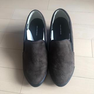 エヌナチュラルビューティーベーシック(N.Natural beauty basic)のNATURAL BEAUTY BASIC スエードショートブーツ 未使用新品(ブーツ)