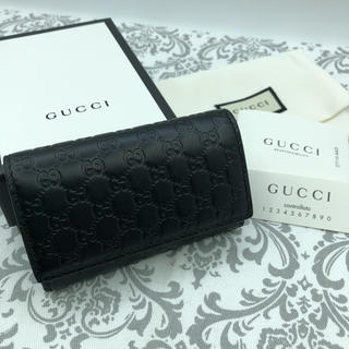 Gucci - 【新品未使用】グッチ◆希少カラー◆レザーキーケース
