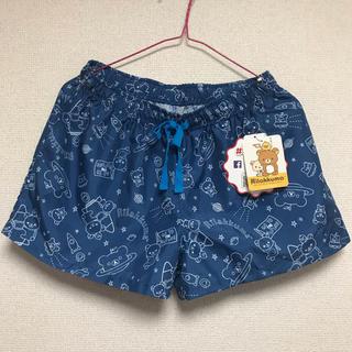 しまむら - 新品タグ付き リラックマ ショートパンツ ブルー Lサイズ