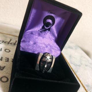 flexus noumen ring matte black  14号(リング(指輪))