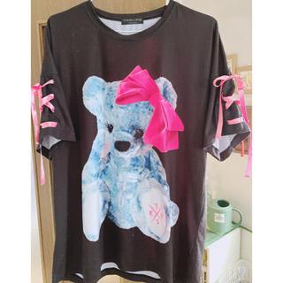 フーガ(FUGA)のTRAVAS TOKYO メスくま BIGシルエットTシャツ(Tシャツ/カットソー(半袖/袖なし))