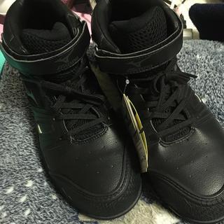 MIZUNO - ミズノオールマイティ新品未使用安全靴樹脂 つま先ひび割れ25.5