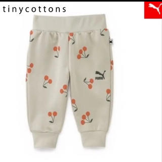 プーマ(PUMA)のPUMA x tiny cottons ジャージ さくらんぼ 3-4Y 105(パンツ/スパッツ)
