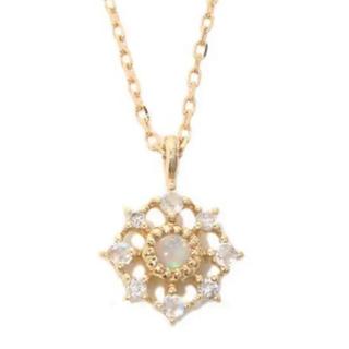 ete - エテ ネックレス オパール ダイヤモンド