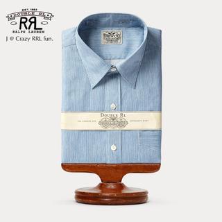 ダブルアールエル(RRL)の【新品】RRL Eli Stripe-Print Shirt 14.5(シャツ)