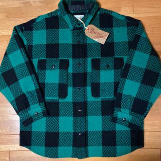 TENDERLOIN - 人気品! TENDERLOIN バッファロー シャツ ジャケット チェック 緑