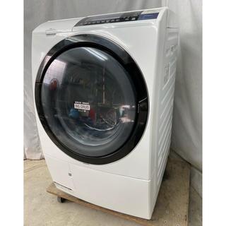 ヒタチ(日立)の日立 ななめ型ドラム式洗濯乾燥機10kg ナイアガラ自動お掃除 BD-S8700(洗濯機)