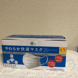 アイリスオーヤマ(アイリスオーヤマ)のやわらか快適マスク ふつうサイズ 65枚(その他)