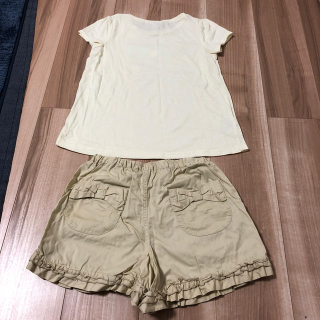 anyFAM(エニィファム)のany FAM  150㎝ 半袖Tシャツ、短パン キッズ/ベビー/マタニティのキッズ服女の子用(90cm~)(Tシャツ/カットソー)の商品写真