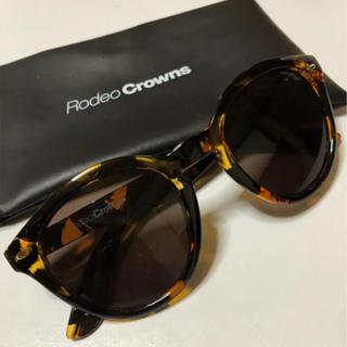 ロデオクラウンズ(RODEO CROWNS)のロデオクラウンズ サングラス ヒョウ柄(サングラス/メガネ)