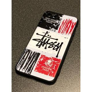STUSSY - STUSSYステューシー ホワイト&ブラック iPhone7・8対応