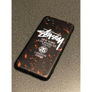 STUSSY - STUSSYステューシー レッド&ブラック iPhone7・8対応
