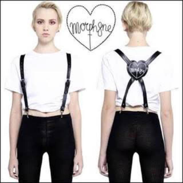 【MORPH8NE(モルフィン) サスペンダー】 レディースのファッション小物(サスペンダー)の商品写真
