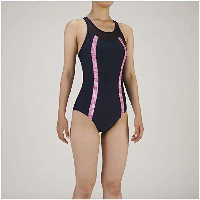MIZUNO(ミズノ)のミズノ フィットネス水着 ジム用 レディース ワンピース(Yバック)  M レディースの水着/浴衣(水着)の商品写真
