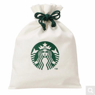Starbucks Coffee - スターバックス 布製 巾着 ポーチ