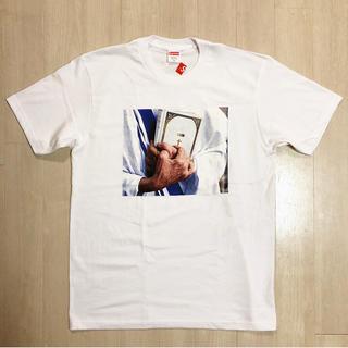 シュプリーム(Supreme)の2019FW 新品 送料込 シュプリーム Bible Tee ホワイト M(Tシャツ/カットソー(半袖/袖なし))