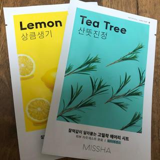 ミシャ(MISSHA)の【新品】MISSHAマスク ×8枚(パック/フェイスマスク)
