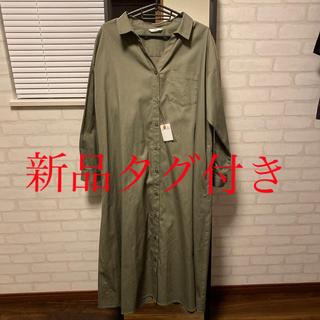 スライ(SLY)のSLY ロングシャツ ロングワンピース(ロングワンピース/マキシワンピース)