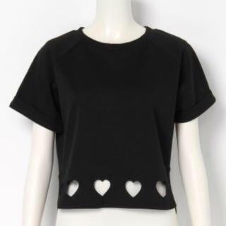 メリージェニー(merry jenny)のハートカットプルオーバー(Tシャツ(半袖/袖なし))