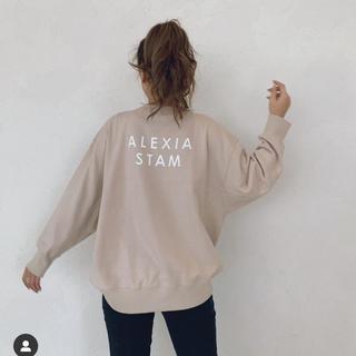 アリシアスタン(ALEXIA STAM)のアリシアスタン スウェット トレーナー(トレーナー/スウェット)