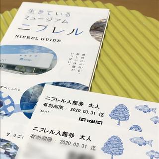 ニフレル チケット 入場券 大人2枚(水族館)