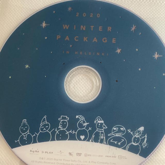防弾少年団(BTS)(ボウダンショウネンダン)のBTS❄️winter  package エンタメ/ホビーのDVD/ブルーレイ(ミュージック)の商品写真
