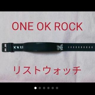 "ONE OK ROCK - ONE OK ROCK 2017 ""Ambitions"" リストウォッチ 黒"