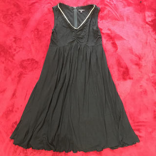 トッカ(TOCCA)のTOCCA ワンピース ドレス 黒 ロング スカート (ロングワンピース/マキシワンピース)