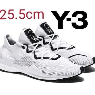 【在庫一掃】 Y-3 Adizero Runner スニーカー 白 25.5㎝