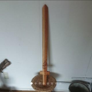 木製の剣(レベル3)オイルコーティング済み  (小道具)