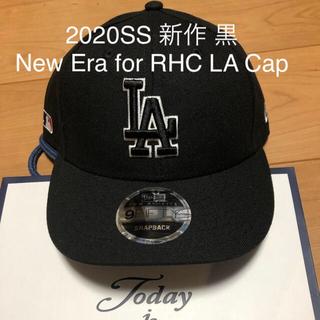 Ron Herman - 2020SS 新作 黒 New Era for RHC LA Cap