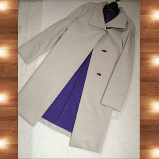 【新品】◆LE CIEL BLEU◆ ベージュ スプリング コート
