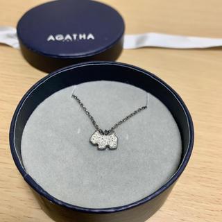 アガタ(AGATHA)のAGATHA テリア ネックレス(ネックレス)