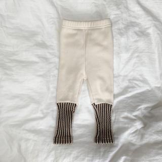 ザラキッズ(ZARA KIDS)の韓国子供服 リブニットレギンス leggings(パンツ)